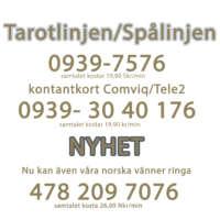 text tarotlinjen hemsidan större